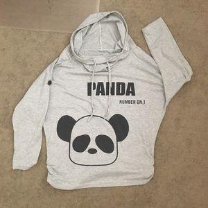 Bundle: 2 Panda shirts & plush phone holder